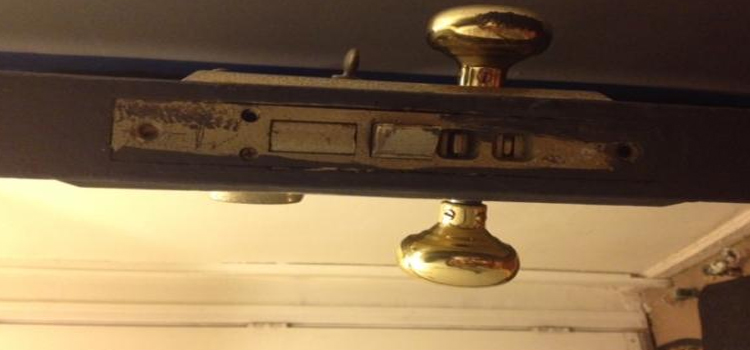 Old Mortise Lock Replacement in South West Calgary